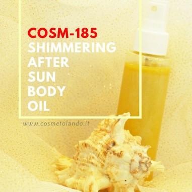 Effetto Bonne Mine Shimmering After Sun Body Oil - COSM-185 COSM-185