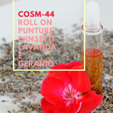 Estate Roll on punture d'insetti lavanda e geranio – COSM-44 COSM-44