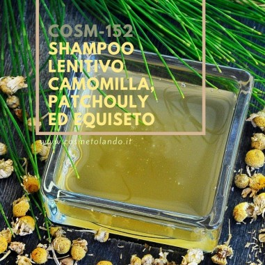 Shampoo Shampoo lenitivo camomilla, patchouly ed equiseto – COSM-152 COSM-152