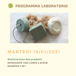 Home Kit Materie Prime per Laboratorio SO.DE. Lab SO.DE.